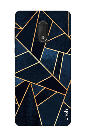 Abstract Navy Nokia 6 Cases & Covers Online