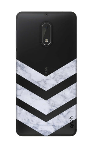 Marble Chevron Nokia 6 Cases & Covers Online