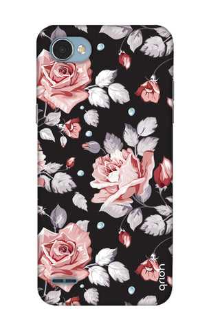 Shabby Chic Floral LG Q6 Cases & Covers Online