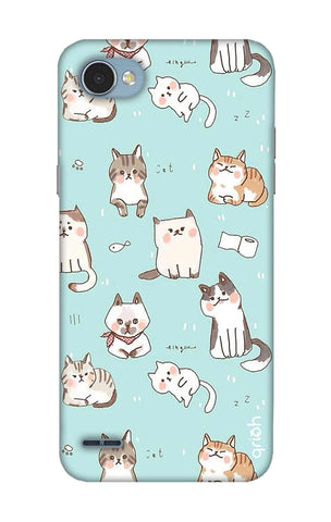 Cat Kingdom LG Q6 Cases & Covers Online