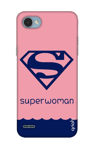 Be a Superwoman LG Q6 Cases & Covers Online