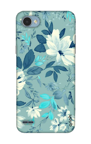 White Lillies LG Q6 Cases & Covers Online