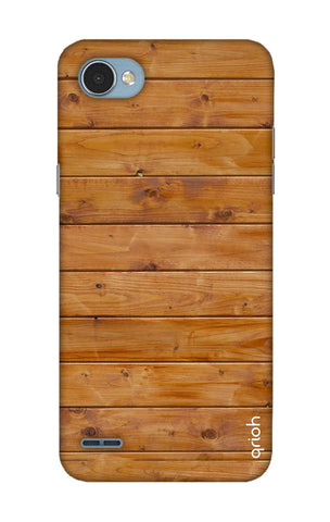 Natural Wood LG Q6 Cases & Covers Online