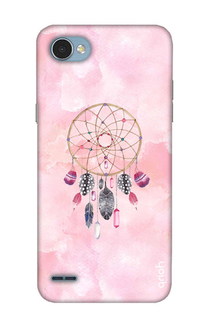 Pink Dreamcatcher LG Q6 Cases & Covers Online
