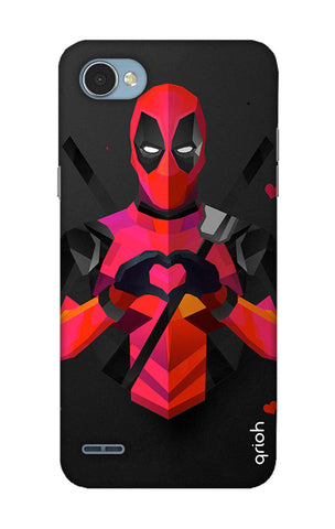 Valentine Deadpool LG Q6 Cases & Covers Online