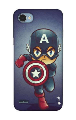 Toy Capt America LG Q6 Cases & Covers Online