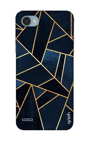 Abstract Navy LG Q6 Cases & Covers Online