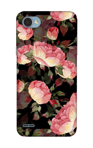 Watercolor Roses LG Q6 Cases & Covers Online