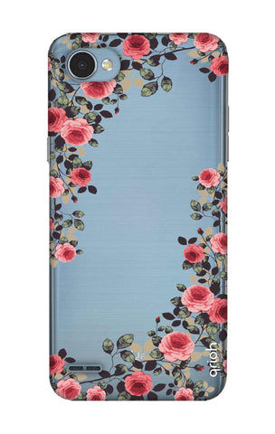 Floral French LG Q6 Cases & Covers Online