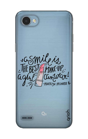 Make Up Smile LG Q6 Cases & Covers Online