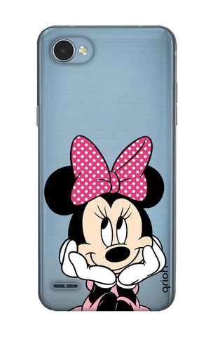 Minnie In Deep Thinking LG Q6 Cases & Covers Online