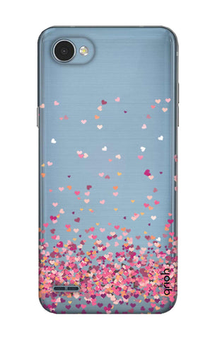 Cluster Of Hearts LG Q6 Cases & Covers Online