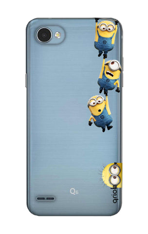 Falling Minions LG Q6 Cases & Covers Online