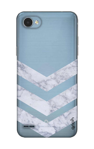 Marble Chevron LG Q6 Cases & Covers Online
