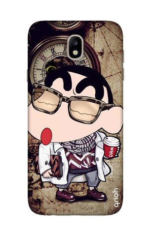 Nerdy Shinchan Samsung J7 Pro Cases & Covers Online