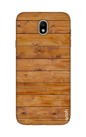 Natural Wood Samsung J7 Pro Cases & Covers Online