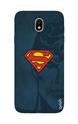 Wild Blue Superman Samsung J7 Pro Cases & Covers Online