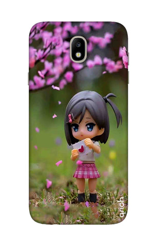Cute Girl Samsung J7 Pro Cases & Covers Online