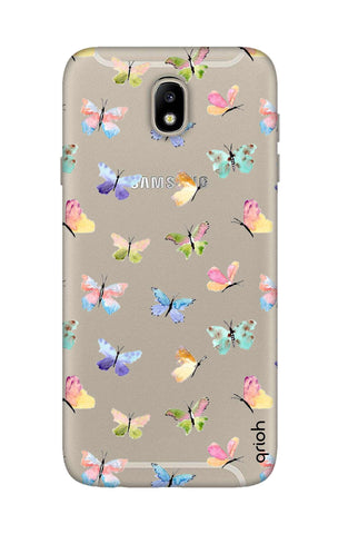 Painted Butterflies Samsung J7 Pro Cases & Covers Online