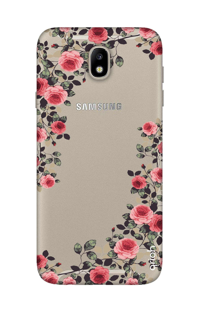 huge selection of 3dd72 b9e0b Floral French Case for Samsung J7 Pro