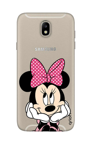 Minnie In Deep Thinking Samsung J7 Pro Cases & Covers Online