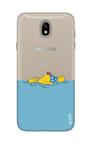 Simpson Chill Samsung J7 Pro Cases & Covers Online