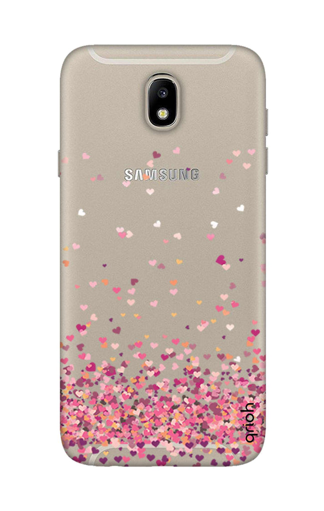 official photos e43e4 599eb Cluster Of Hearts Case for Samsung J7 Pro