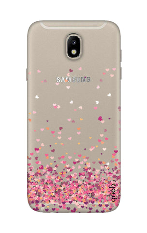 official photos d5c51 af35e Cluster Of Hearts Case for Samsung J7 Pro