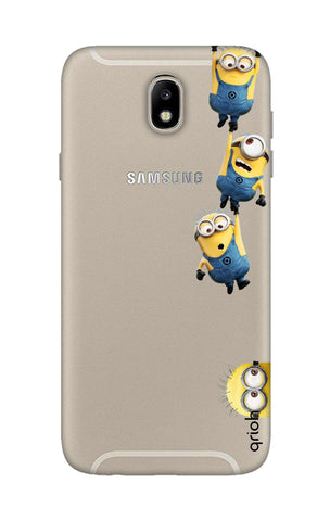 Falling Minions Samsung J7 Pro Cases & Covers Online