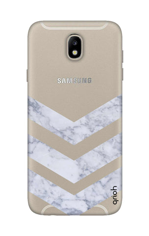 Marble Chevron Samsung J7 Pro Cases & Covers Online