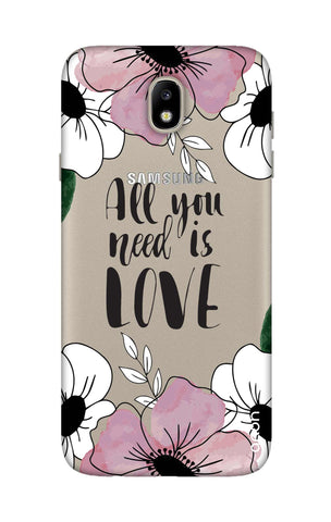All You Need is Love Samsung J7 Pro Cases & Covers Online