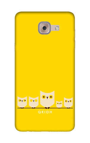 Owl Family Samsung J7 Max Cases & Covers Online