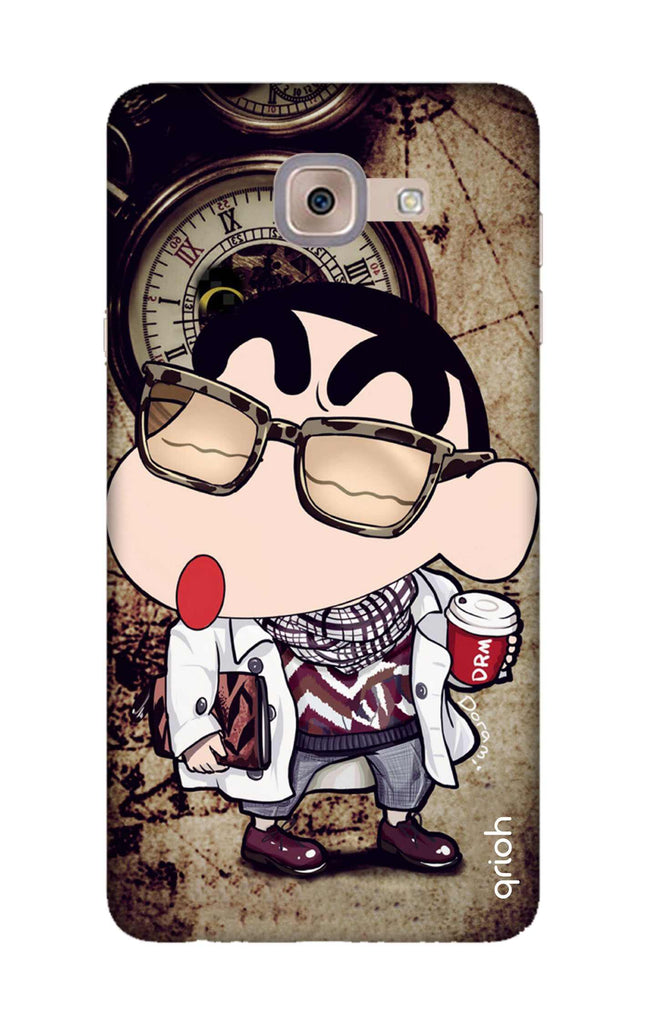 cheap for discount 921ad 1c46b Nerdy Shinchan Case for Samsung J7 Max