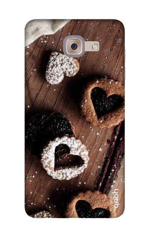 Heart Cookies Samsung J7 Max Cases & Covers Online