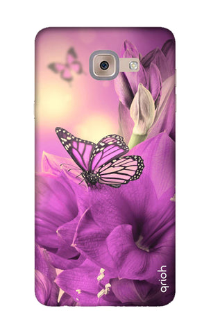Purple Butterfly Samsung J7 Max Cases & Covers Online