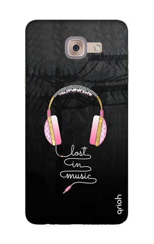 Lost In Music Samsung J7 Max Cases & Covers Online