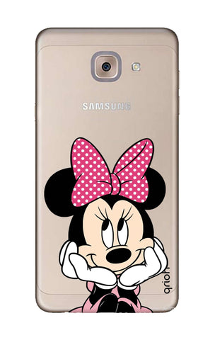 Minnie In Deep Thinking Samsung J7 Max Cases & Covers Online