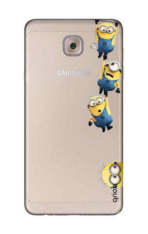 Falling Minions Samsung J7 Max Cases & Covers Online