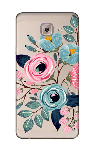 Pink And Blue Floral Samsung J7 Max Cases & Covers Online
