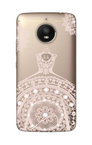 Bling Wedding Gown Motorola Moto E4 Plus Cases & Covers Online