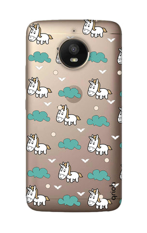 Unicorn In The Clouds Motorola Moto E4 Plus Cases & Covers Online
