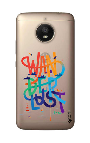 Wanderlust Colourful Motorola Moto E4 Plus Cases & Covers Online