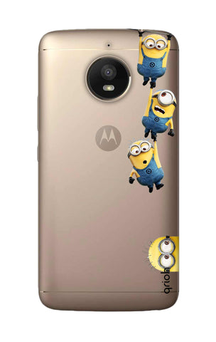 Falling Minions Motorola Moto E4 Plus Cases & Covers Online
