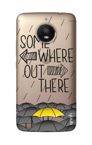 Somewhere Out There Motorola Moto E4 Plus Cases & Covers Online