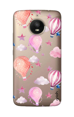 Flying Balloons Motorola Moto E4 Plus Cases & Covers Online