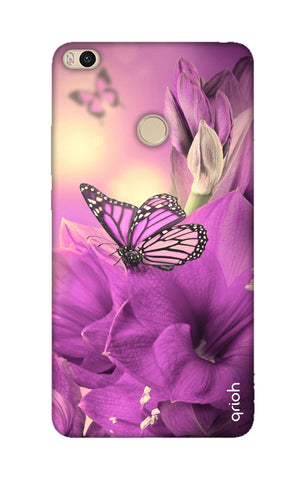 Purple Butterfly Xiaomi Mi Max 2 Cases & Covers Online