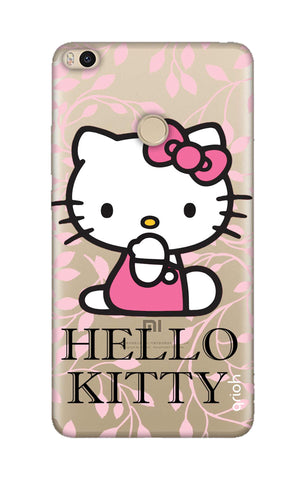 Hello Kitty Floral Xiaomi Mi Max 2 Cases & Covers Online