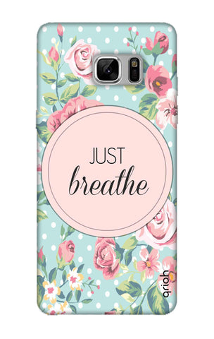 Vintage Just Breathe Samsung Note 8 Cases & Covers Online