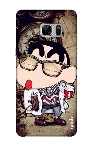 Nerdy Shinchan Samsung Note 8 Cases & Covers Online
