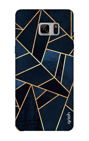 Abstract Navy Samsung Note 8 Cases & Covers Online